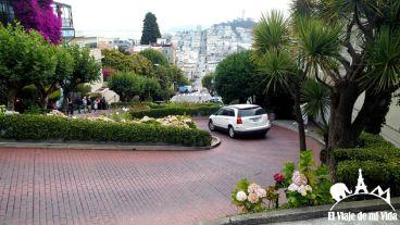 Lombard street desde arriba