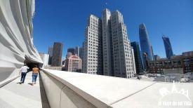 Vistas desde la terraza del SFMOMA