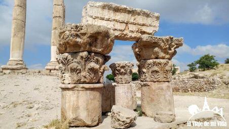 Restos del templo de Hércules