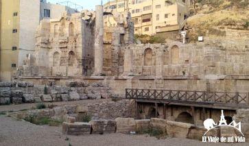 Restos romanos en Downtown