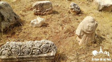 Entrada al Museo arqueológico de Jordania