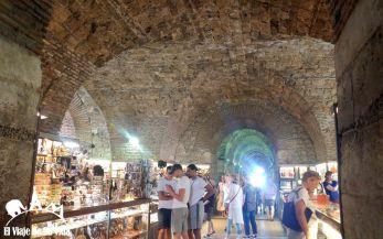 Subterráneos del Palacio Dioleciano