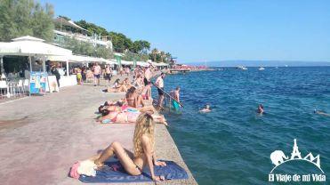 La playa de Bacvice
