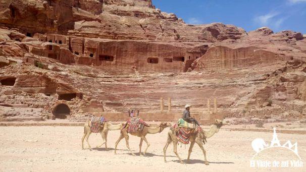 Teatro romano de Petra