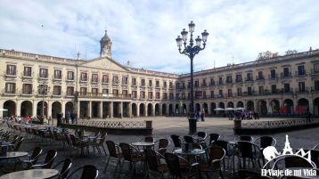 El Ayuntamiento y la Plaza de España