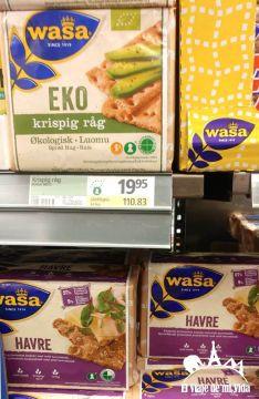 Pan sueco por unos 2 euros en el supermercado
