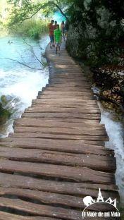 Itinerario fácil por el Parque Nacional de los Lagos de Plitvice