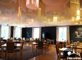 Cafetería restaurante del Ice Hotel