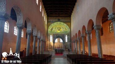 La Basílica Eufrásica de Porec