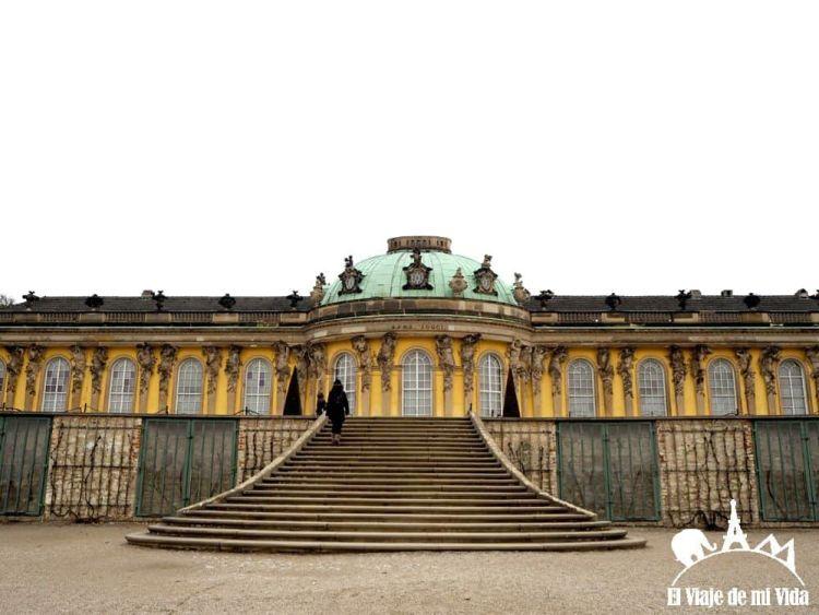 Castillo Sanssouci en Postdam