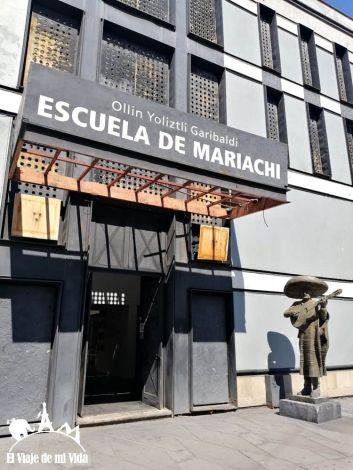 Escuela de Mariachis en Garibaldi