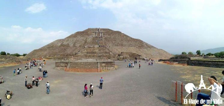 Las pirámides de Teotihuacán