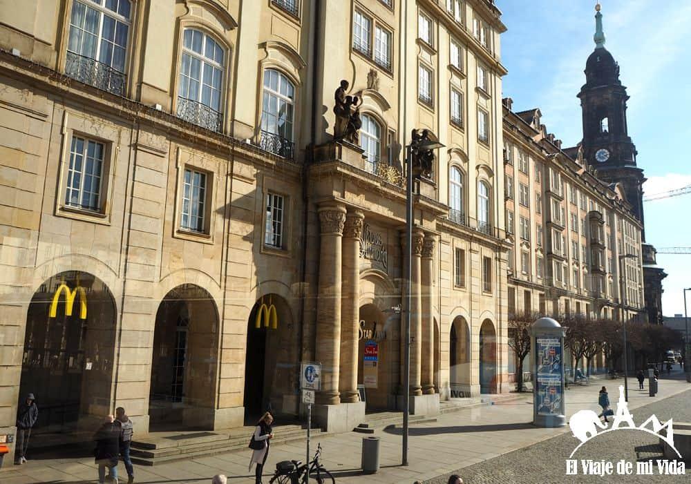 La plaza de Altmarkt