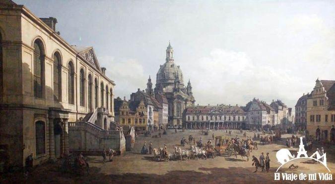 Fraukirche (Cuadro de la Galería Alte Meister)