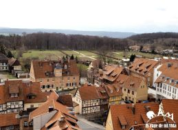 Vistas desde el Castillo de Quedlinburg