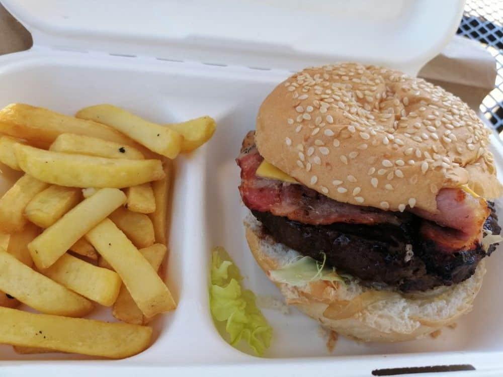 Menú hamburguesa en Kruger: 7 euros