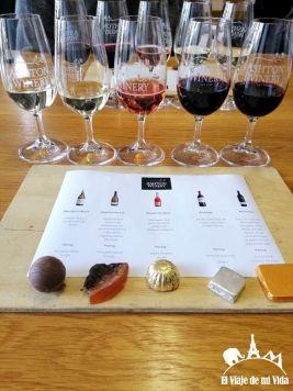 Cata de vinos surafricanos