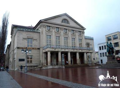 El Teatro Nacional Alemán hoy en día