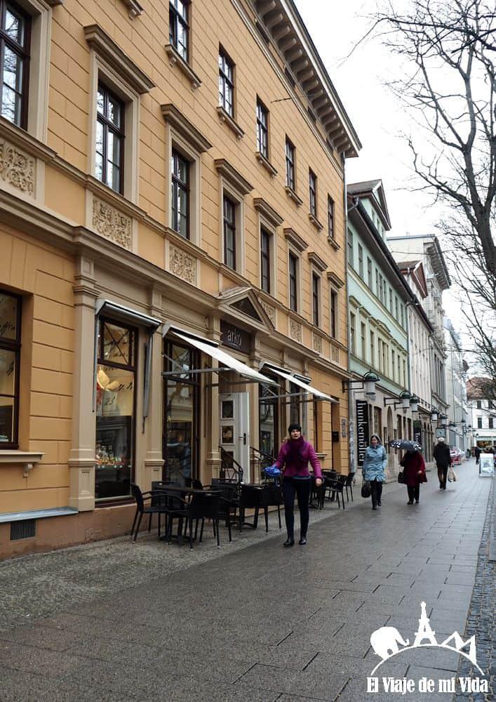 Calles de Weimar