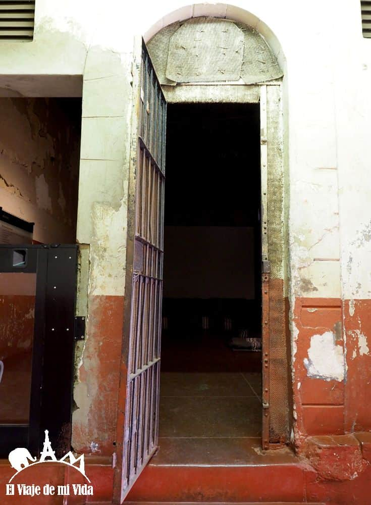 Celdas de la antigua cárcel