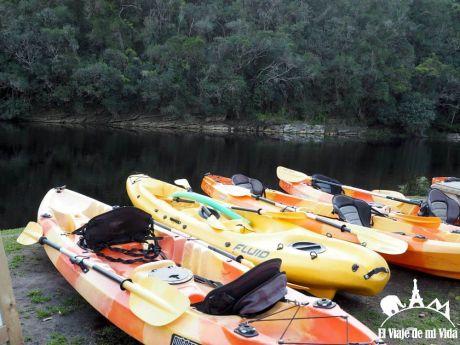Canoa por el Parque Nacional Wilderness