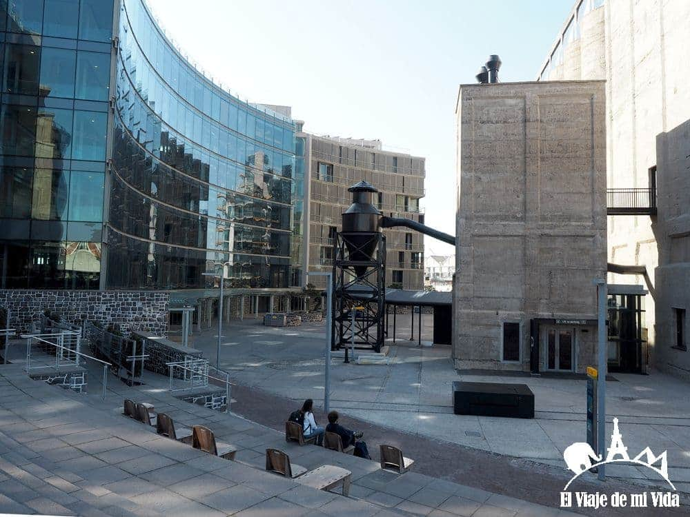 El barrio Silo y el Museo de Arte Contemporáneo