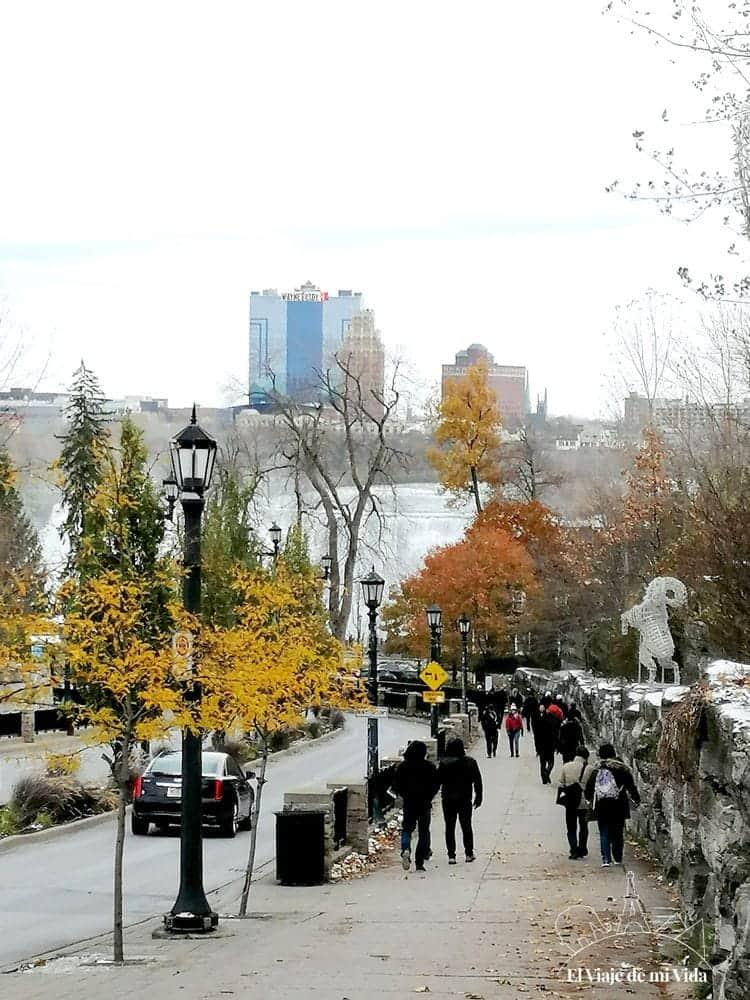 Vistas a las cataratas desde Downtown