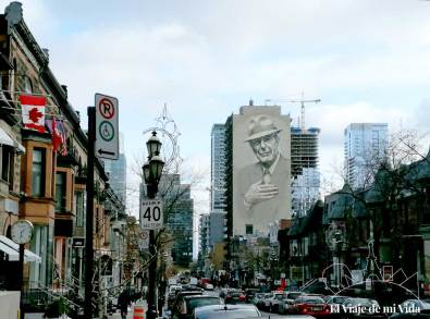 Barrio de los Espectáculos de Montreal