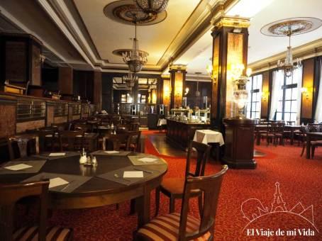 Los cafés de Budapest: Café Astoria