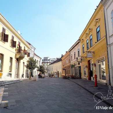 Kiraly Street en Pécs