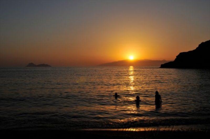 Atardeceres en la isla de Creta