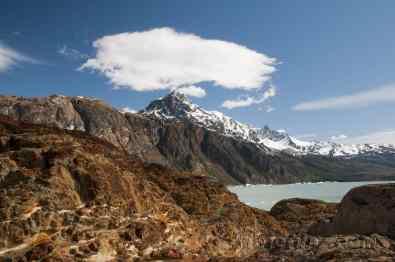 Morrenas glaciar Viedma