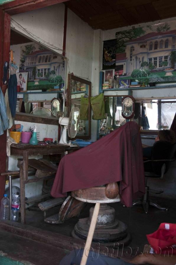 Hsipaw, barbería