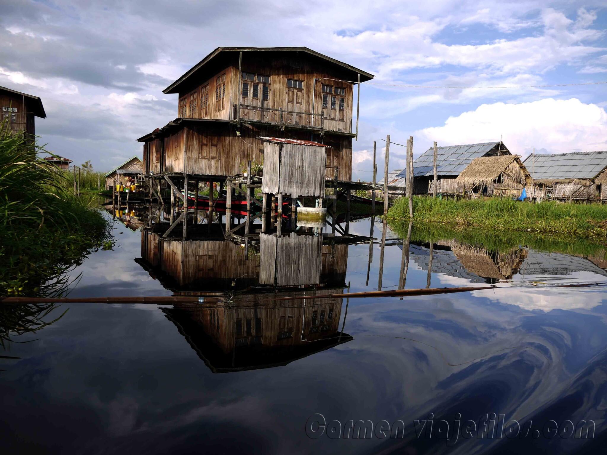 Objetivo Birmania Myanmar Segunda Parte Bag 225 N Lago