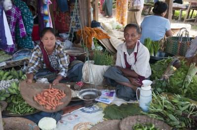 Lago Inle, Mercado de Maing Thauk 05