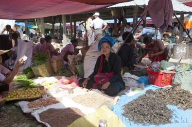 Lago Inle, Mercado de Maing Thauk 09