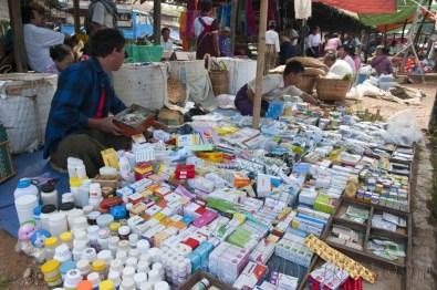 Lago Inle, Mercado de Maing Thauk 10