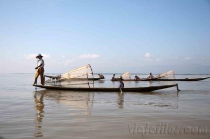 Lago Inle, pescadores 02