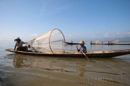 Lago Inle, pescadores 03