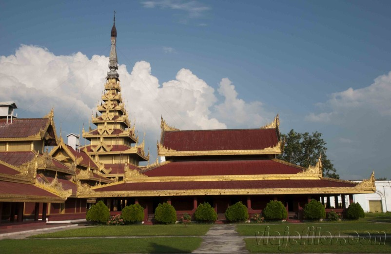 Mandalay, Palacio