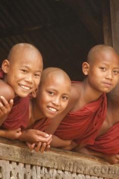 Sonrisas de Myanmar 43