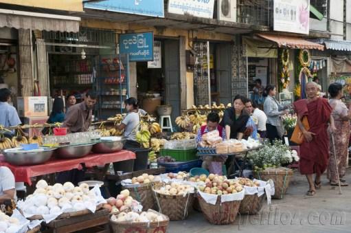 Yangón, mercados de la ciudad 03