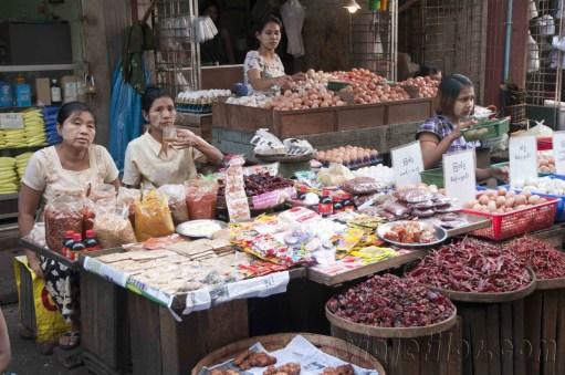 Yangón, mercados de la ciudad 06