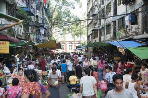 Yangón, mercados de la ciudad 07