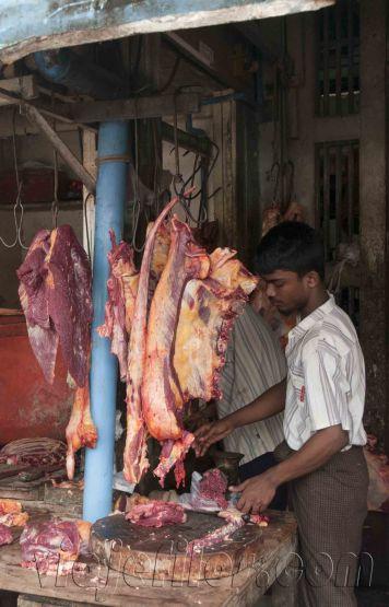 Yangón, mercados de la ciudad 13