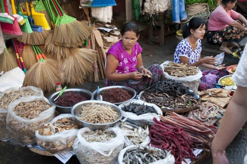 Yangón, mercados de la ciudad 17