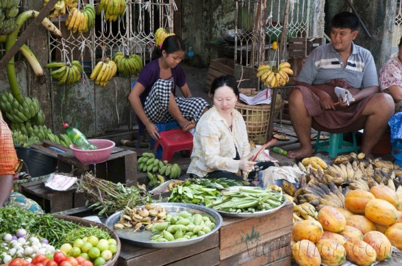 Yangón, mercados de la ciudad 23