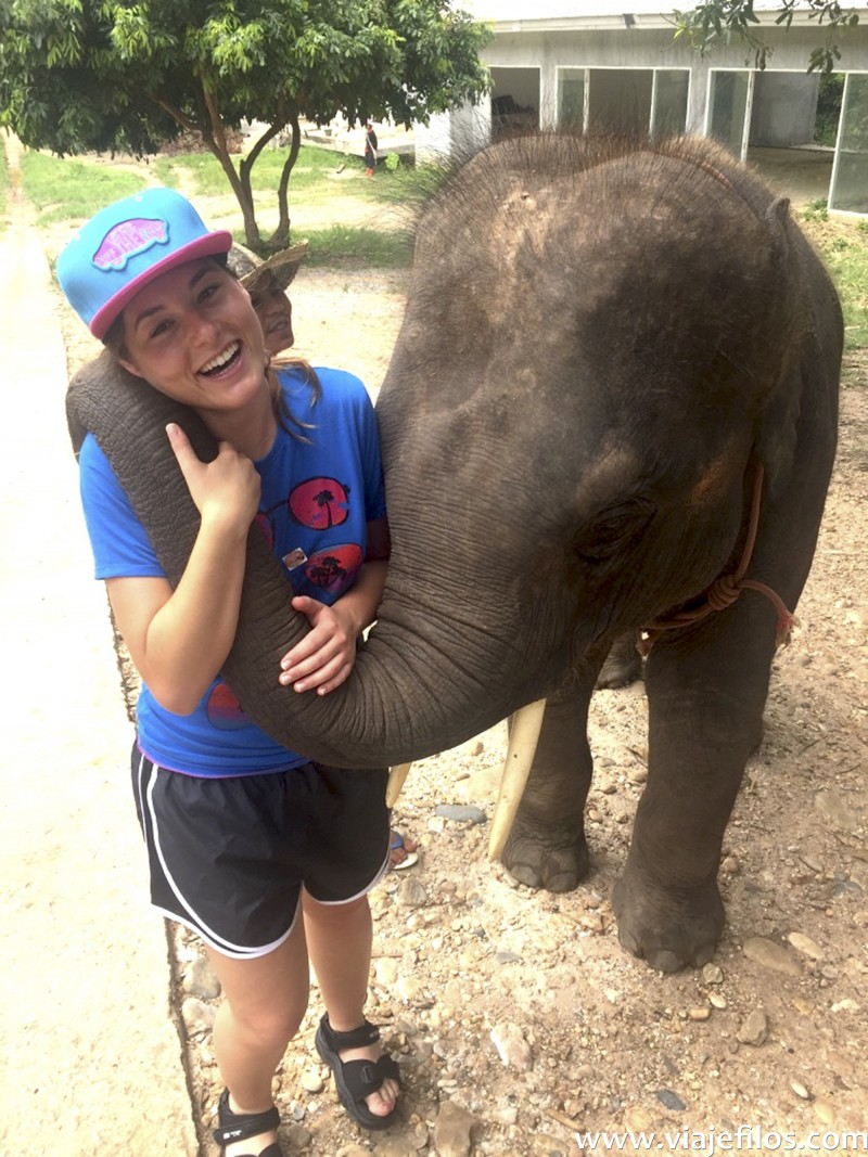 Lucia en el Norte de Tailandia, Viajefilos 164