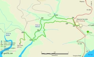 monfrague_cerro_gimio_mapa