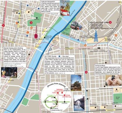 4 Mapa Asakusa Tokyo